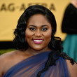 Danielle Brooks' Glamour Curls and Popping Pout