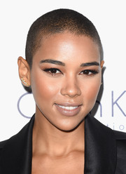 Alexandra Shipp went edgy with this buzzcut at the 2015 Elle Women in Hollywood Awards.
