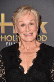 Glenn Close rocked a tousled 'do at the 2018 Hollywood Film Awards.