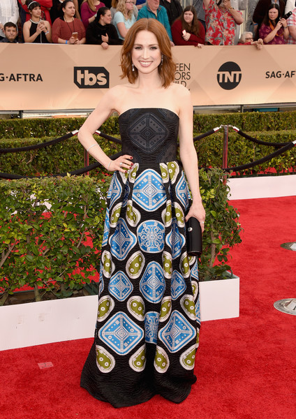 Ellie Kemper in Peter Pilotto