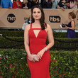 Katie Lowes in Christian Siriano