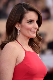 Tina Fey looked sweet with her feathered waves at the SAG Awards.