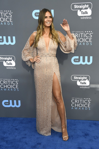 Heidi Klum in Georges Hobeika Couture