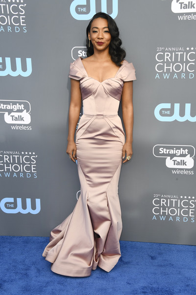 Betty Gabriel in Zac Posen