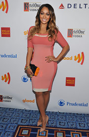 La La Anthony wore a classic pair of beige pumps to the 23rd Annual GLAAD Media Awards.