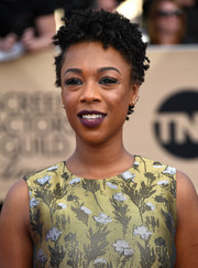 Samira Wiley attended the SAG Awards wearing her signature short, tight curls.