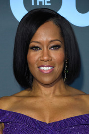 Regina King kept it classic with this bob at the 2019 Critics' Choice Awards.