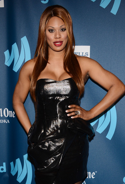 More Pics of Laverne Cox Little Black Dress (1 of 7) - Laverne Cox Lookbook - StyleBistro