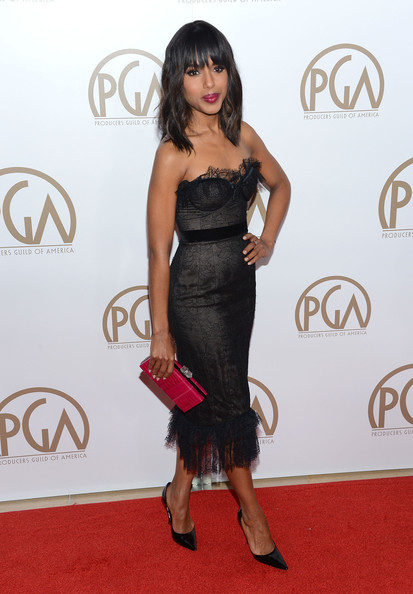 More Pics of Kerry Washington Corset Dress (5 of 10) - Corset Dress Lookbook - StyleBistro