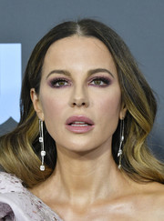 Kate Beckinsale opted for a sweet wavy hairstyle when she attended the 2020 Critics' Choice Awards.