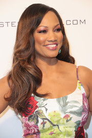 Garcelle Beauvais sported a sweet wavy hairstyle at the Elton John AIDS Foundation Oscar-viewing party.
