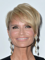 Kristin Chenoweth rocked the emo bangs trend at the 2014 Producers Guild of America Awards.