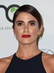 Nikki Reed looked simply elegant wearing this slicked-down ponytail at the EMA Awards.