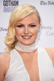 Malin Akerman got all prettied up with this side-swept curly 'do for the Gotham Independent Film Awards.