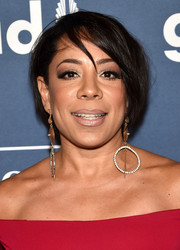Selenis Leyva attended the GLAAD Media Awards sporting a simple bob.