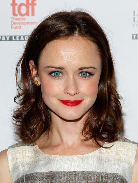 More Pics of Alexis Bledel Medium Layered Cut (1 of 4) - Alexis Bledel Lookbook - StyleBistro