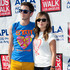 Actors Michael Urie (L) and Sophia Bush (R) attend the 28th Annual AIDS Walk Los Angeles (AWLA) on October 14, 2012 in West Hollywood, California.