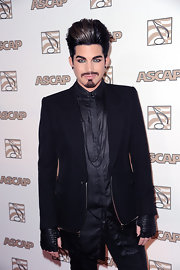 Adam donned a dramatic black blazer for the ASCAP Pop Music Awards.