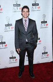 Jeremy Jordan looked oh-so-handsome in his charcoal suit at the Lucille Lortel Awards.