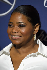 Octavia Spencer slicked her hair back into a tight chignon for the Palm Springs International Film Festival.