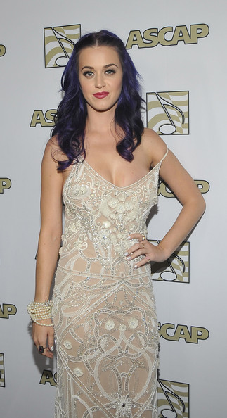 More Pics of Katy Perry Long Wavy Cut (4 of 17) - Katy Perry Lookbook - StyleBistro