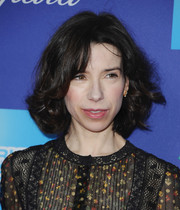 Sally Hawkins kept it classic with this curly bob at the Palm Springs International Film Festival Awards Gala.