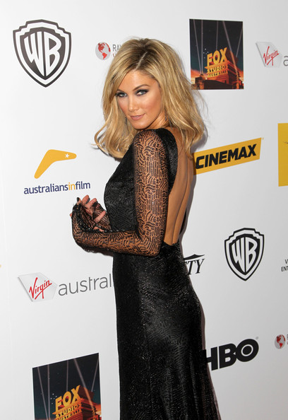 More Pics of Delta Goodrem Medium Wavy Cut (1 of 12) - Delta Goodrem Lookbook - StyleBistro
