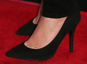 Drew Barrymore kept it simple on the red carpet with these pair of black pumps.