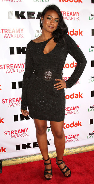 More Pics of Tatyana Ali Leather Belt (1 of 5) - Tatyana Ali Lookbook - StyleBistro