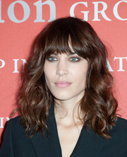 Alexa Chung looked edgy with her tousled waves during the Annual Night of Stars.