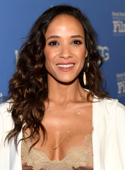 Dania Ramirez was beautifully coiffed with long, luxuriant curls at the Santa Barbara International Film Festival.