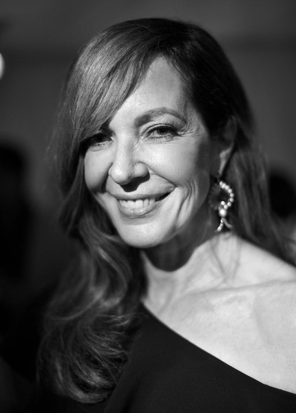 Allison Janney wore her hair in a gently wavy style with side-swept bangs at the Santa Barbara International Film Festival.