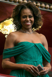 Michelle Obama looked quite the diva with her high-volume curls during the Kennedy Center Honors Gala.