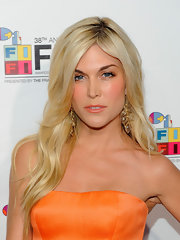 Tinsley Mortimer showed off her long blonde curls while hitting the Annual Fifi Awards.