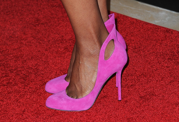 More Pics of Aisha Tyler Pumps (1 of 10) - Aisha Tyler Lookbook - StyleBistro