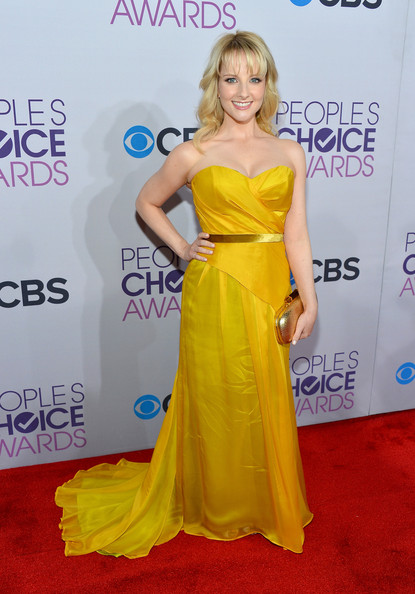 Melissa Rauch at the 2013 People's Choice Awards