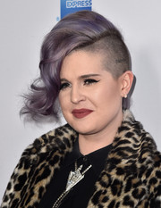 Kelly Osbourne made an appearance at the Airbnb Open Spotlight event sporting her signature mohawk.