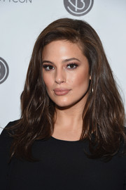 Ashley Graham was stylishly coiffed with this textured lob at the 3rd Annual Beautycon Festival.