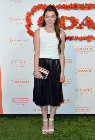More Pics of Hailee Steinfeld Evening Sandals (5 of 11) - Evening Sandals Lookbook - StyleBistro