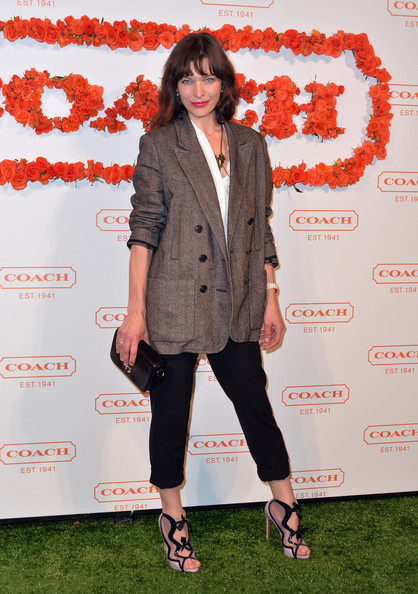 Milla Jovovich at the 3rd Annual Coach Evening to Benefit Children's Defense Fund