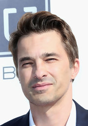 Olivier Martinez looked as dashing as ever in a stylish short haircut at the Steamy Awards in Hollywood.