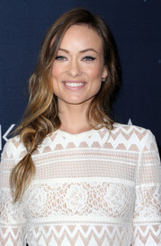 Olivia Wilde sported a very loose side braid at the unite4:humanity event.