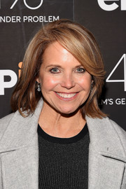 Katie Couric sported a casual bob at the New York premiere of 'The 4%: Film's Gender Problem.'
