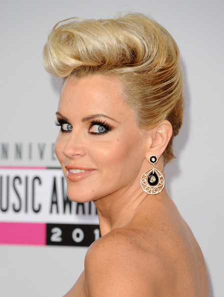 More Pics of Jenny McCarthy Gold Dangle Earrings (3 of 31) - Jenny McCarthy Lookbook - StyleBistro
