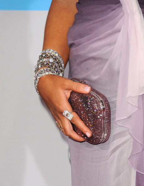 More Pics of Christina Aguilera Sequined Clutch (1 of 22) - Christina Aguilera Lookbook - StyleBistro