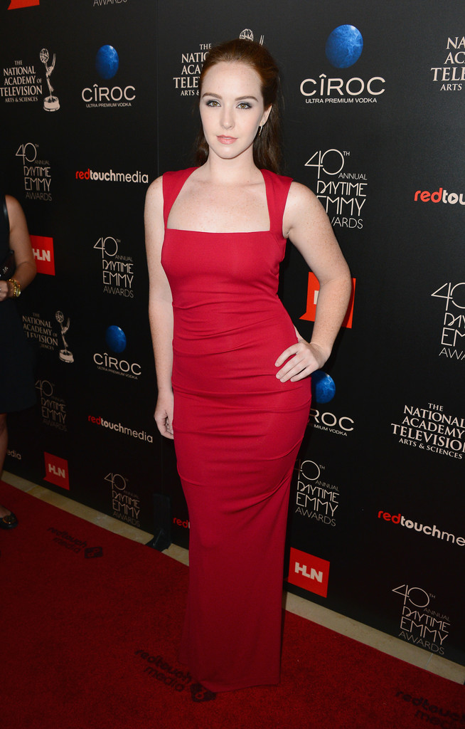 Camryn Grimes At The Daytime Emmys Best Dressed At The