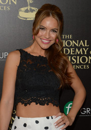 Chrishell Stause opted for a solid white mani when she attended the 2014 Daytime Emmy Awards.