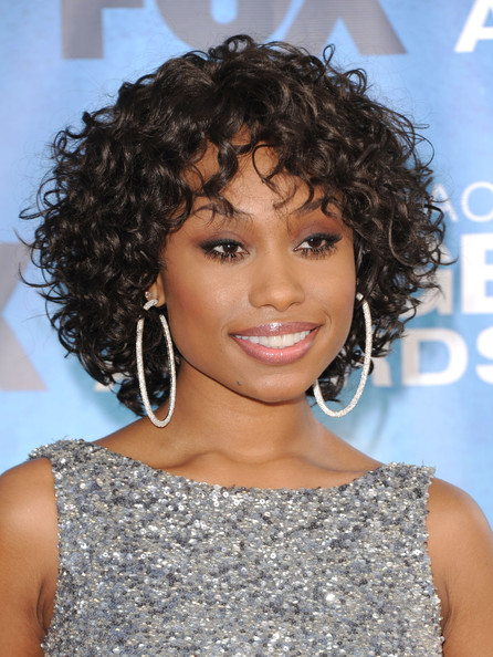 More Pics of Angell Conwell Diamond Hoops (1 of 3) - Angell Conwell Lookbook - StyleBistro