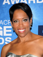 Regina King kept her red carpet look easy-breezy with this pixie at the NAACP Image Awards.