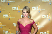 Singer Miranda Lambert attends the 44th Annual CMA Awards at the Bridgestone Arena on November 10, 2010 in Nashville, Tennessee.